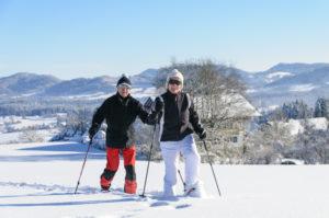 Schneeschuhwandern 300x199