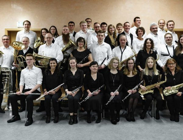 Gruppenfoto Konzert